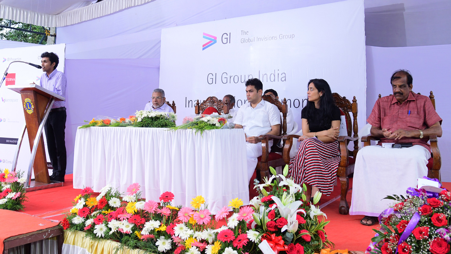 GI Group India office inaugurated by M.L.A Hibi Eden in Kochi